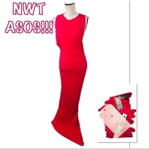 • ASOS | NWT | Tall Open Side Maxi •